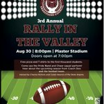 Get pumped for Rally in the Valley! Less than a week away, doors open at 7:30. @MOStateFootball #BearUp https://t.co/qeHRZjZfed