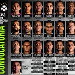 #Primera | ¡Esta es la convocatoria de #ZamoraFC para el duelo de hoy ante #Wanderers! #CopaSudamericana ⚽💪🔥 https://t.co/VHCHaVOm93