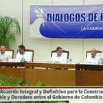 Este es el comunicado de los acuerdos finales alcanzados en La Habana https://t.co/cnfAHyTaHu https://t.co/dw1wm6Gj83
