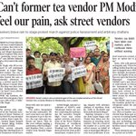 Police harassment of vendors had stopped in Del when Anti-Corruption Branch (ACB) was wid us. Now ACB wid Modiji https://t.co/1qUIreXtiS