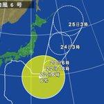 台風10号の軌道が話題になっていますが、ここで2014年に発生した「香川県にうどん食べに寄っただけの台風6号」を見てみましょう。 https://t.co/7cPQMiWqP8