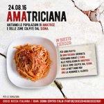 イタリア料理界ではアマトリーチェを救うべくイタリア料理店でアマトリチャーナを注文したらお客さんから1€、店から1€寄付するプロジェクトが始まりました!日本でも始めたお店、始めるお店があれば教えてください。RTします! https://t.co/Vw6U4hJRzD