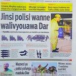 Jinsi Polisi wanne walivyouawa Dar es Salaam. Magazeti ya #Tanzania leo Agosti 25: https://t.co/ND6ekjXULo https://t.co/mfN5Oe3PAc