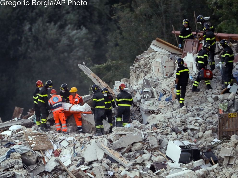 JUST IN: Death toll climbs to 247 after 6.2-magnitude quake in central Italy, 368 injured. https://t.co/2nPKel6rCi