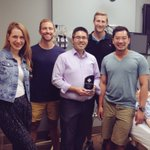 Congrats to Chris Ng (OB/GYN), inaugural recipient of our off service teaching award! Well deserved. #med #meded https://t.co/LyBofnDxLg