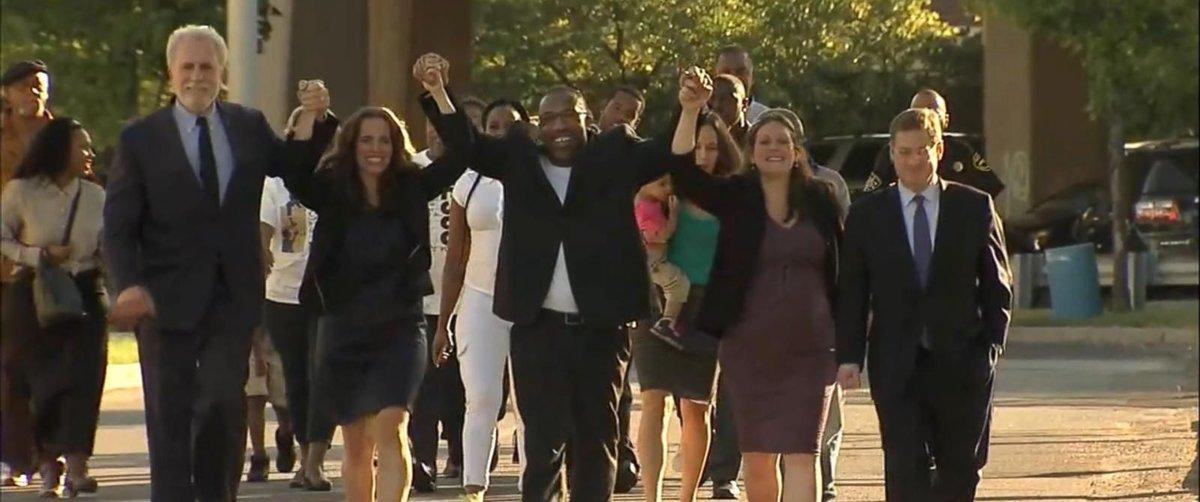 Philadelphia man exonerated after spending 25 years in prison. 'Best feeling in the world.' https://t.co/ONq9mx4Akd