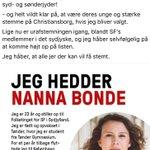 Ny kandidat: @SF_Ungdom|s formand, @Nanna_Bonde, stiller op til folketinget for @SFpolitik i Sydjylland. #dkpol https://t.co/QdfGgUgaxG