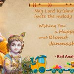 Wish You All A Very Happy Janmashtami! #RailAnalysis #HappyJanmashtami #Janmashtami https://t.co/i45IWjeHgW