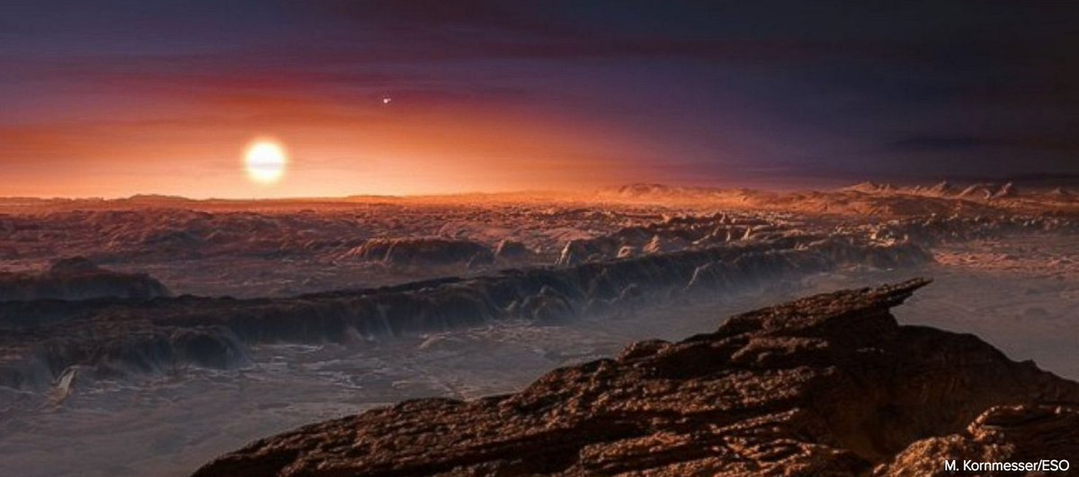 Astronomers discover Earth-sized, potentially habitable planet 4 light years away. https://t.co/Sdj7x5gOPI