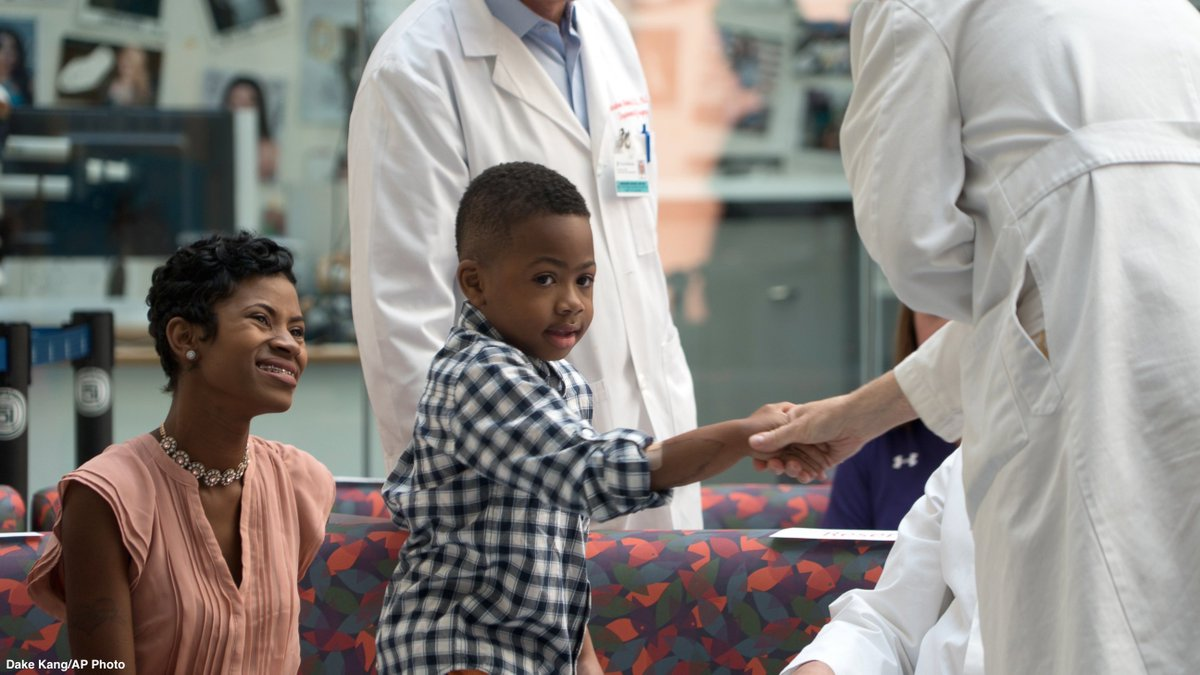 First US child to receive double-hand transplant on overcoming difficulties: 'Never give up' https://t.co/D3025zsyL5