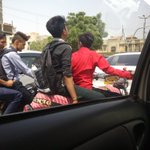 School boys are on bikes #Karachi near #Marriott hotel n #traffic #police is sleeping I think https://t.co/PDZ9HxfWL1