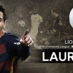 [#LDC] OFFICIEL |  Le but de Lionel Messi face à lAS Rome élu But de la saison 2015/2016 ! https://t.co/nyM8RRPiDh