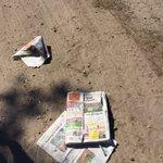 Lekker gewoon op straat dumpen die @StadAmersfoort. #devervuilerbetaalt #hogesteeg #hoogland https://t.co/IJWGq0paqe