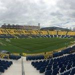 Ultimando detalles para el primer partido en casa de la temporada, ¡en el Gran Canaria ya se respira fútbol! ⚽️👏🏼 https://t.co/vOaOh3f7Ks