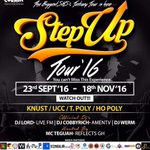 You cant miss The biggest SHS & Tertiary tours #StepUpTour16. Get ready for the experience. Event by @cue_gh. https://t.co/wMIYkEtNEg