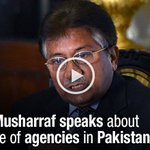 Former #President #PervezMusharraf speaks about role of agencies in #Pakistan. Watch: https://t.co/l5odaDFws1 https://t.co/RcUSsNW6kn
