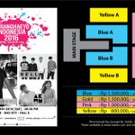 [Announcement] Venue layout SARANGHAEYO INDONESIA 2016 presented by MCP and Livenation Korea. Supported by KOCCA. https://t.co/6xR6tUqZwP