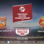 Pesut Etam percaya diri mampu kalahkan tim besar! #TSC2016ID Pusamania Borneo vs Sriwijaya FC, pkl 15.30 WIB LIVE! https://t.co/H2cJ2H2qFS