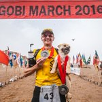Gobi the stray dog reunited with athlete after running 125km together https://t.co/q4SuUlOsaB (Pics: 4 Deserts) https://t.co/uEESWyNpvp