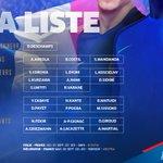 On connaît les 23 joueurs qui affronteront lItalie et la Biélorussie ! A lundi messieurs 😉🇫🇷 #FiersdetreBleus https://t.co/oDKfntmCJL