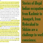 Stories of illegal indian occupation from kashmir to junagarh frm hydrbad to sikkim #SunderLalCommissionReport https://t.co/6pTfgD9fRj