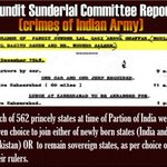 #SunderLalCommissionReport This report is a proof that Kashmir has been illegally occupied by Endia https://t.co/vJRrY6Jom4