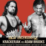 Krackerjak and Adam Brooks go one-on-one this Saturday night at #MCWUncensored2! #Melbourne https://t.co/9NnXbDquMf