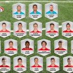 Unsere 23 Mann für das Spiel gegen Georgien. https://t.co/OVkKQcYVqa