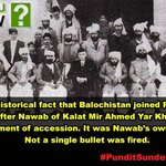 Balochistan joined Pakistan after accession. India conquered Hyderabad by force #SunderLalCommissionReport https://t.co/0I70DuSOhL