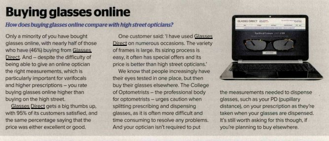 Thank you @WhichUK for featuring us as one of the best places to buy glasses online. https://t.co/q2HhlZbtAp