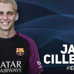 FC Barcelona sign goalkeeper @jaspercillessen. More information at https://t.co/Qw6Pie74QK #CillessenFCB https://t.co/RtjbvVEdbT