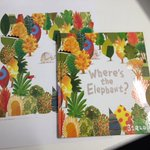 RT & follow by 9am 26-Aug-16 to #win Barrouxs Wheres the Elephant? plus limted edition.  illustration https://t.co/Htt6JHplWu