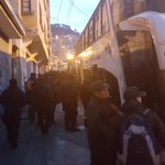 #bloqueos Nuevo contingente policial en avanza hasta el sector de panduro con ordenes de desbloquear la carretera https://t.co/atS8Ijwg7A