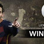 🏆 WINNER! 🏆 Congratulations Leo Messi, winner of the UEFAcom fan vote for #GoalOfTheSeason! https://t.co/ZNnlHs3ihq https://t.co/UdQXv90KFp