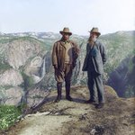 100th Birthday of US National Park Service and I colorized the iconic photo of Teddy Roosevelt and John Muir #NPS100 https://t.co/r2NnTrMCkY