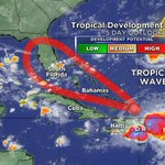 Watch @CBSMiami at NOON for the latest update on the TROPICAL WAVE in the Atlantic approaching the Bahamas #CBS4 https://t.co/MrmoVeRz6g