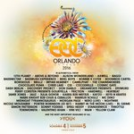 WHO IS READY FOR @EDC_Orlando AND THIS BOMB LINEUP 😍 https://t.co/3k1FyaZR0E