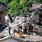 Terremoto en Italia: más de 250 personas muertas y otras 365 heridas ► https://t.co/SO3ceOMpo9 https://t.co/xT3FF7UL6O