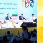 """#Ahora Comienza panel """"Esquema de financiación"""" gracias a Gob @Luis_Perez_G de @GobAntioquia. #LaPazNosUne https://t.co/4LViO1rMRV"""