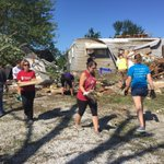 Students, faculty, staff help cleanup tornado aftermath #myiuk #kokomostrong https://t.co/kmKOIS2NKC