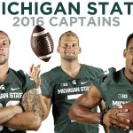 Introducing your 2016 @MSU_Football captains: @RileyBullough, @TylerOConnor7 and @i_AM_SEVEN7. https://t.co/jzVFFuLuNS