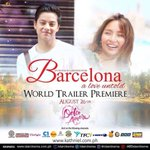 Looking to watching in YouTube #BarcelonaTrailerBukasNa  #PushAwardsKathNiels https://t.co/9hjEM9AMUo  941