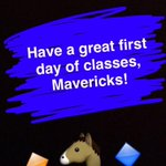 Fall 2016 is here, #Mavericks! Have a great first day of classes! https://t.co/1ohF6MhOtE