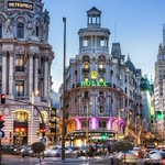 Image of madrid from Twitter