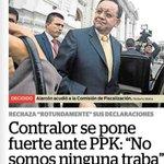 "BIEN DICHO! Contralor Alarcón: ""De repente a PPK no le gusta que se investiguen los megaproyectos de Ollanta Humala"" https://t.co/mqxmI6M3lR"