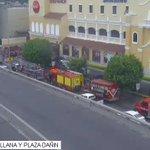 Ojos de Águila @cscg112 capta alarma de incendio en C.C. San Marino @BomberosGYE @ATMGuayaquil #PorTuSeguridad https://t.co/UrkPRDbizQ