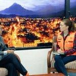 """[Entrevista] """"Tenemos un incremento de incendios forestales en agosto"""", @patricornejo3 #Chimborazo #EcuadorSinFuego https://t.co/qbhOwjJcoM"""