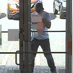 Suspect sought in bank robbery https://t.co/KTB6m0bsgB https://t.co/sU8MYGbekt
