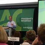 """Short term pain for long term train"" @JimWatsonOttawa #acbreakfast @AlgonquinColleg https://t.co/BDy5vX5MRo"
