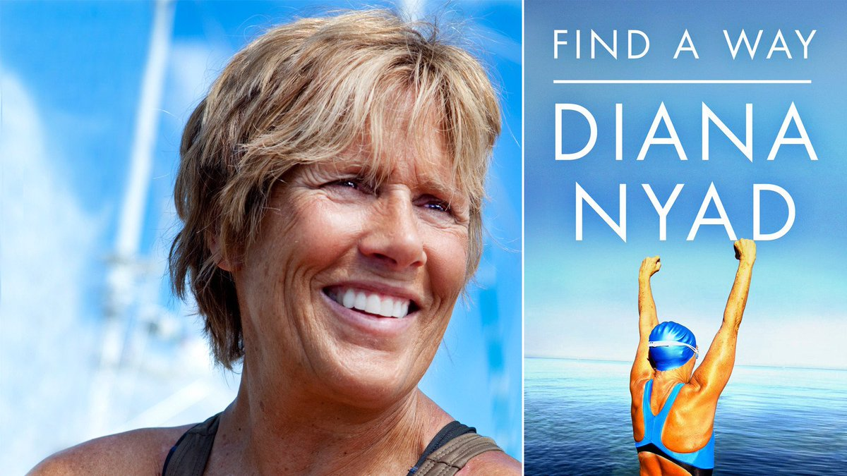 you think you hang with sharks? We talk with amazing @diananyad today! #swimming #NeverGiveUp #jellyfish #TheHotShow https://t.co/juWXe4mWEq